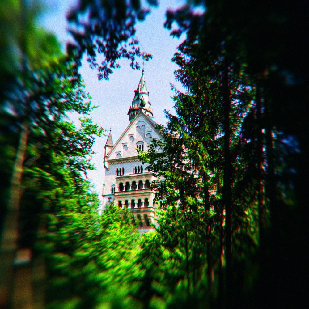 ©-Killzero-Hitori-Бавария-Мюнхен-Замок-Нойшванштайн